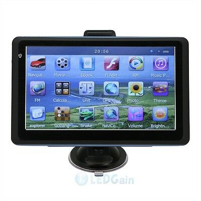 New 7-inch 4GB Car GPS Navigator MP4 Player with Built-in USA Canada Mexico Map