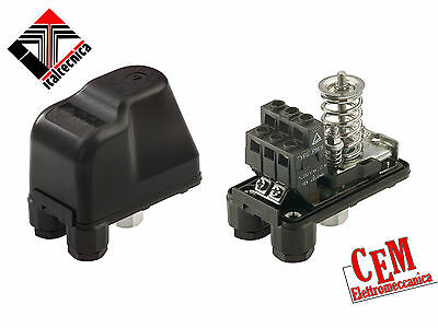 """Pressure Switches for cold water PM/5G Italtecnica connection 1/4"""" F 230 V pump"""