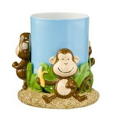High Quality Resin Monkey Tumbler with Holder for the Bath
