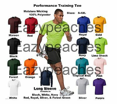 Men's A4 NEW Dri-fit Workout Running Cooling Athletic T-SHIRTS S-3XL 4XL N3142