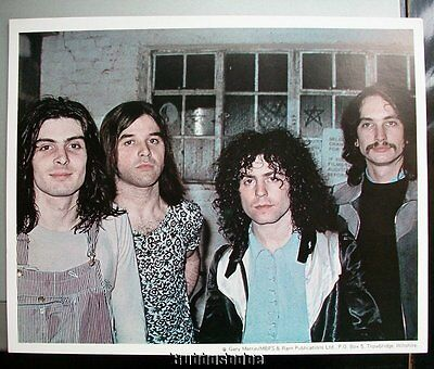Marc Bolan T.Rex 10x8 PROMO Lithograph ~ Colour pic of the band
