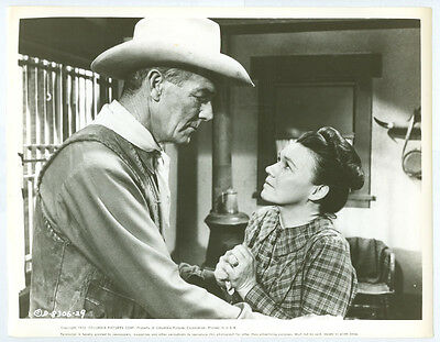 RANDOLPH SCOTT, JEANETTE NOLAN original movie photo 1955 THE LAWLESS STREET