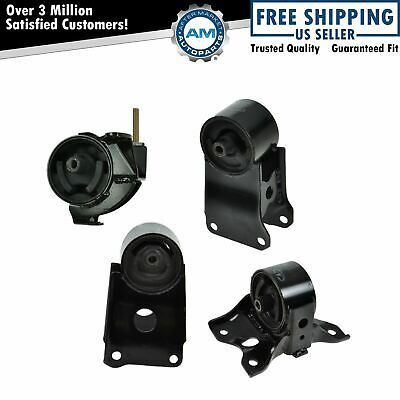 Engine & Automatic Transmission Mount Kit Set of 4 for Maxima I30 3.0L AT A/T