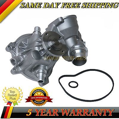 Water Pump & Gasket Set For Bmw E70 X5 4.8 E71 X6 E60 E65 Oe Quality #779