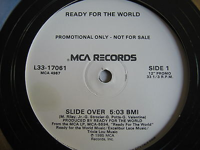 BOOGIE/ Ready For The World - Slide Over (WL Promo)