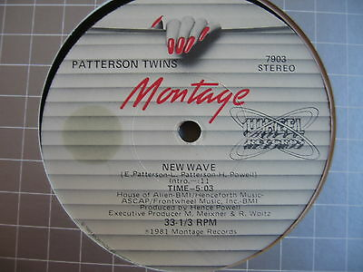 BOOGIE/ Patterson Twins - New Wave