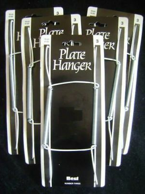 NEW SPRING PLATE WALL HANGERS HOLDER SIZE 10-14inch 25-36cm No.3