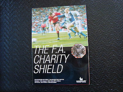 Blackburn v Man United 1994  Charity Shield