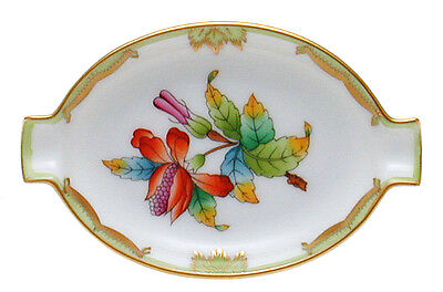Herend - Queen Victoria Oval Tray, Hungary, Hungarian