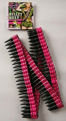 Combat Cutie Bullet Belt Military Army Brat Toy Pink Halloween Costume Accessory