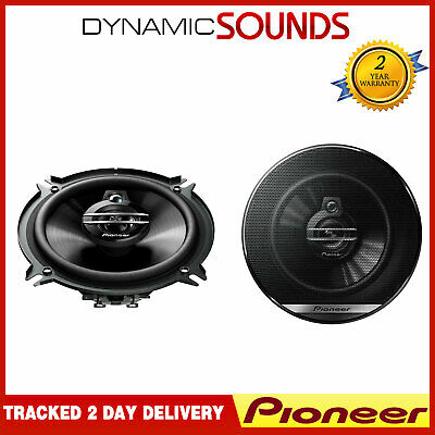 Pioneer 500W Total 3-Way 5.25 Inch 13cm Car Van Door/Shelf Coaxial Speakers Pair