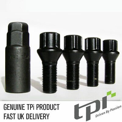 TPI Black Eco Locks M14x1.25 - 50mm