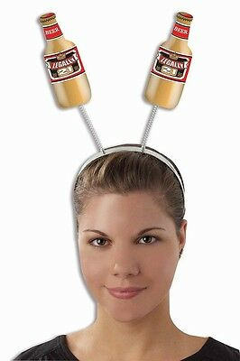 Legally 21 Hat Happy 21st Birthday Party Favor Beer Bottle Antennae Head Bopper