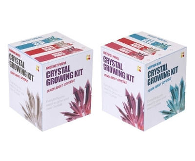 Small Crystal Growing Set - Educational Childrens Science Experiment Kit