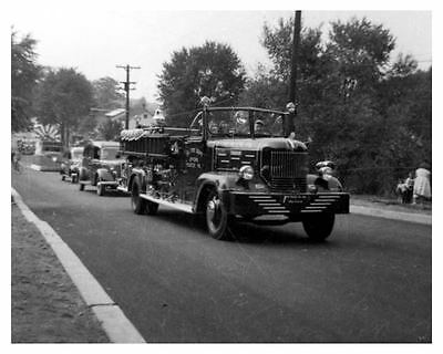 1947 Hahn Fire Truck Photo ca1290