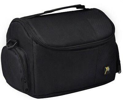 DSLR SLR Digital Camera Deluxe Padded Case Bag for Canon/Nikon/Sony/Pentax
