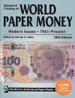 LANZ George S. Cuhaj Standard Catalog of World Paper Money 20th Edition ~L2