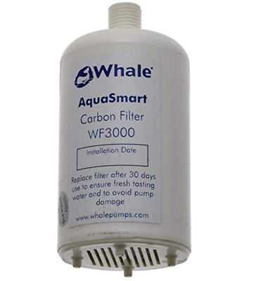 Whale Aquasmart Replacement Filter Wf3000 Silverised Carbon Filter - Caravan