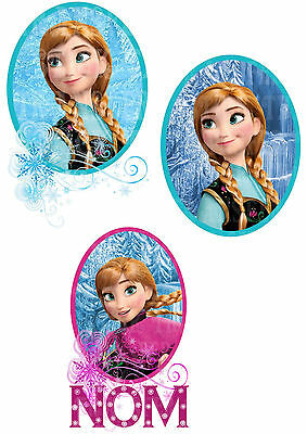 La Reine Des Neiges Frozen Anna Sticker Autocollant Déco