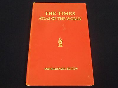 1967 The Times Atlas Of The World Comprehensive Edition - Great Maps  - Kd 3099