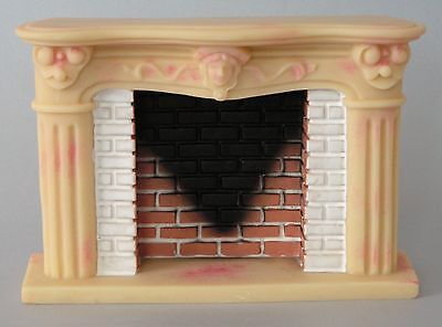 "1/12 Scale Dolls House ""french"" Style Fireplace With Marble Effect"