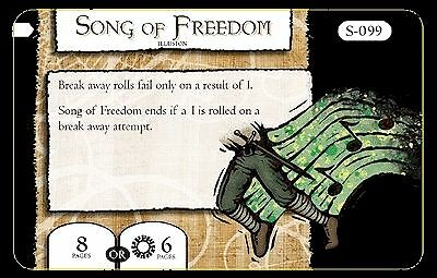 Mage Knight Omens S-099 Song of Freedom