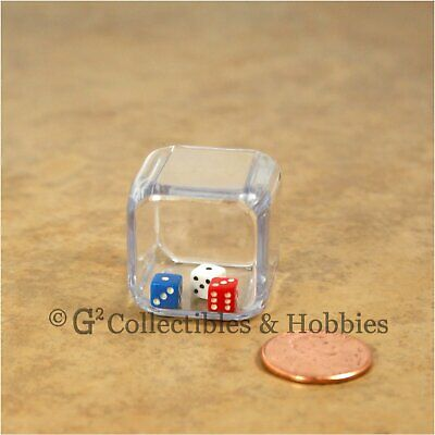 NEW Triple Six Sided Dice 3 in a cube 25mm 1 inch D6 RPG Game Die Math Koplow