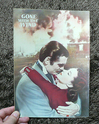 Gone With The Wind 1954 VERSION MOVIE PAMPHLET & HALF TICKET & FLYER  JAPAN