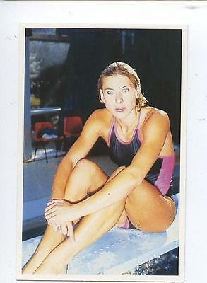 Scarce Trade Card of Sharron Davies, Swimming 1991 Series 2