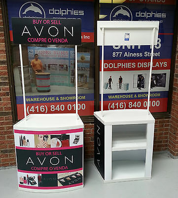 AVON Marketing Event Tradeshow Promo Product Table Counter Kiosk + FREE Graphics