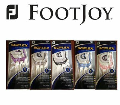 LADIES Footjoy Sciflex Fashion Golf Glove Different sizes and colours 2013