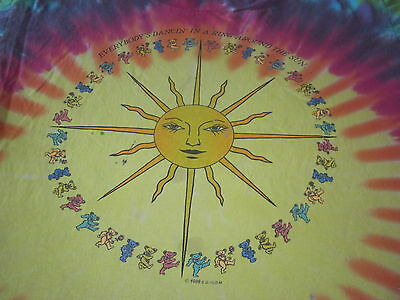 grateful dead vintage 1988 tee shirt large everybodys dancin in a ring around