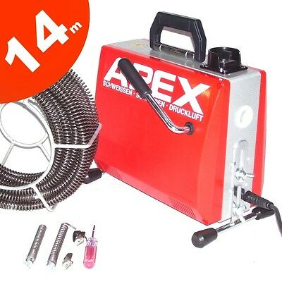 55430 Pipe Cleaning Device 390W Tube Cleaner Pipe Drain Cleaning Machine APEX