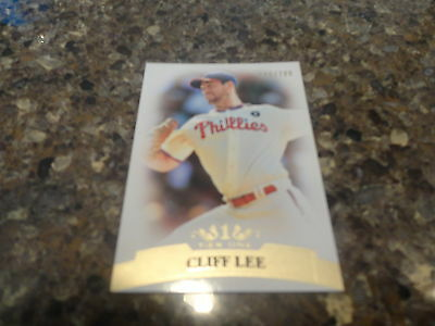 2011 TOPPS TIER ONE BASEBALL CLIFF LEE BASE CARD #'D /799
