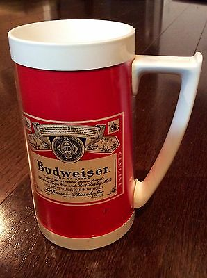 Vintage Budweiser Thermal Mug West Bend Usa
