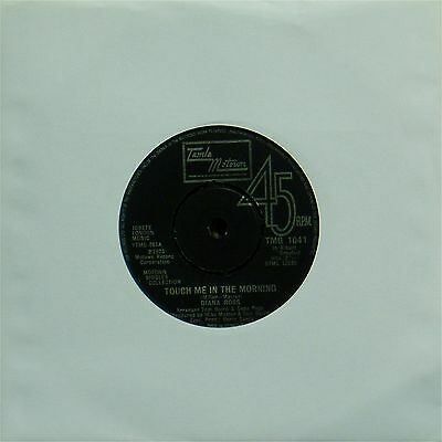 """DIANA ROSS 'TOUCH ME IN THE MORNING' UK 7"""" SINGLE #3"""