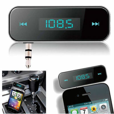 CAR WIRELESS MP3 FM RADIO TRANSMITTER HANDS FREE FOR  iPhone 5 iPhone 6 iPhone6S