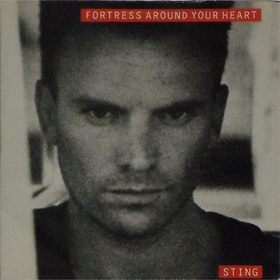 """STING 'FORTRESS AROUND YOUR HEART' UK PICTURE SLEEVE 7"""" SINGLE"""