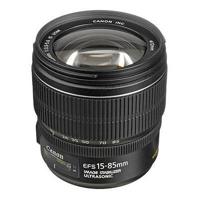 Canon EF-S 15mm-85mm f/3.5-5.6 USM IS Lens, USA #3560B002
