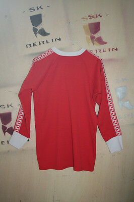 True VINTAGE HERRENSPIELERHEMD Trikot D5 Shirt MADE IN GDR 80s Fussballtrikot