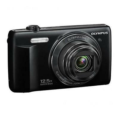 Olympus VR-370 Digital Camera, Black #V105110BU000