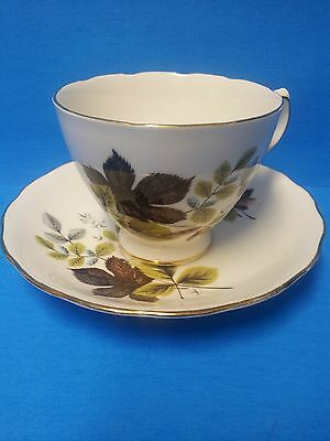Queen Anne by Ridgway Potteries Teacup and Saucer Patt. 8285 England