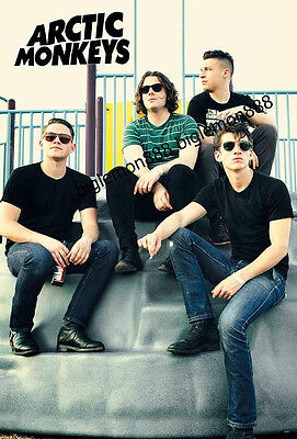 "Arctic Monkeys Group Music Paper Poster #3 23.4""x34.5"""