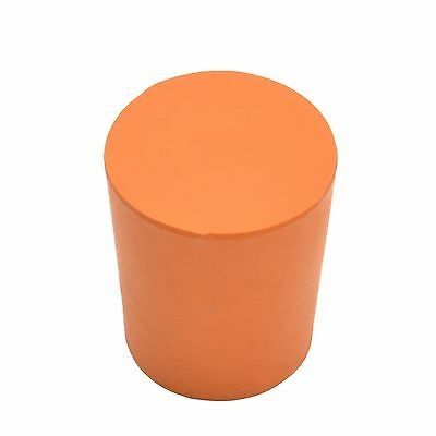 Solid Rubber Stopper, Rubber Bung - Size 21 (21Mm > 24Mm) - 10 Pack