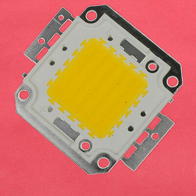50W Pure White High Power LED SMD 3000-3500K 4500-5000LM Integration