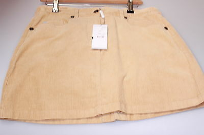 Daily Sport Stretch Golf Skirt Fine Needle Corduroy Rich Camel Clearance 38 / 12
