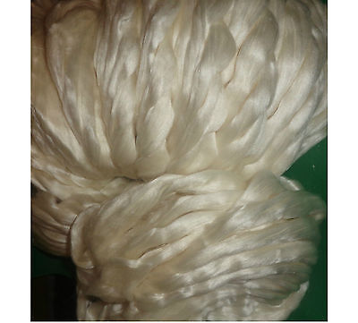 Beautiful 50% Silk 50% Merino Tops Spinning Felting Pick The Weight You Require