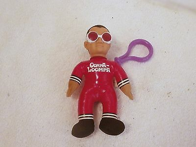 """Vintage Wendy's Charlie & The Chocolate Factory Oompa Loompa 5"""" Key Chain"""
