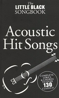 Little Black Songbook Acoustic Hits Guitar Sheet Music Book. Greatest Hits NEW