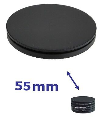 55mm NEW FILTER STACK CAP SET metal filter case 55